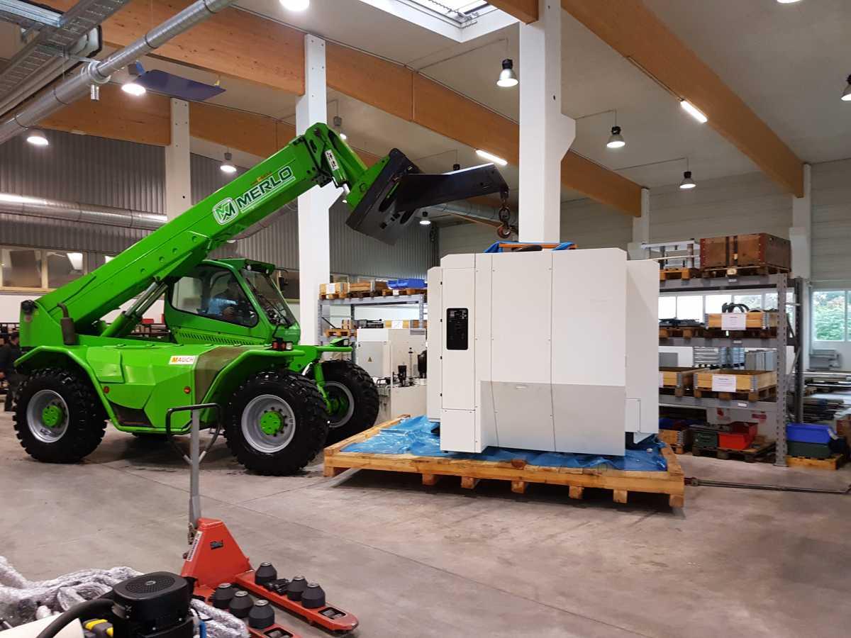 Neue Maschine DMG Mori EcoMill 1100V