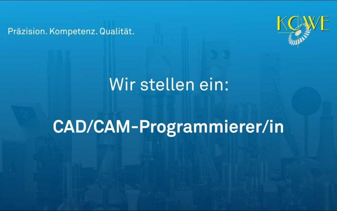 CAD/CAM-Programmierer/in