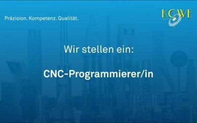 CNC-Programmierer/in gesucht