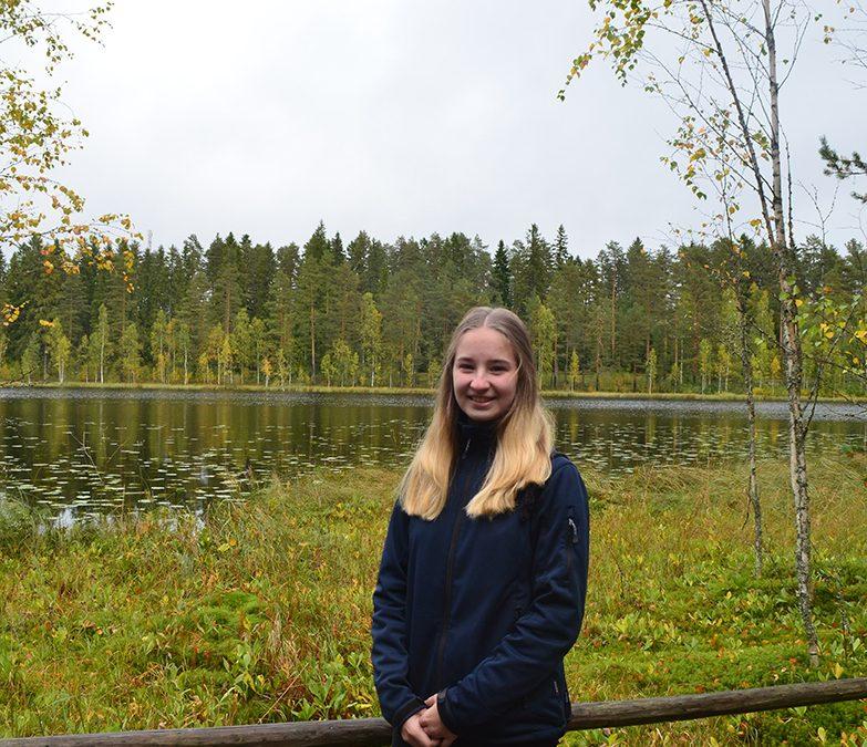 Sandra's Aufenthalt in Finnland