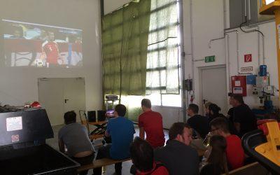 Corporate viewing bei KOWE – EM-Spiel Österreich : Ungarn