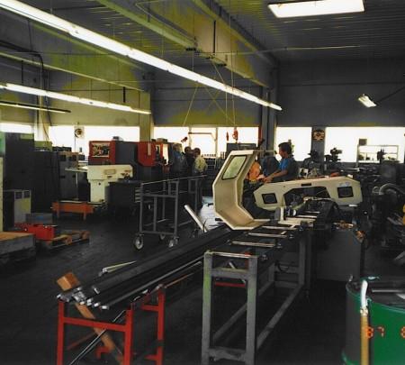 Maschinenhalle Mehrnbach 1997