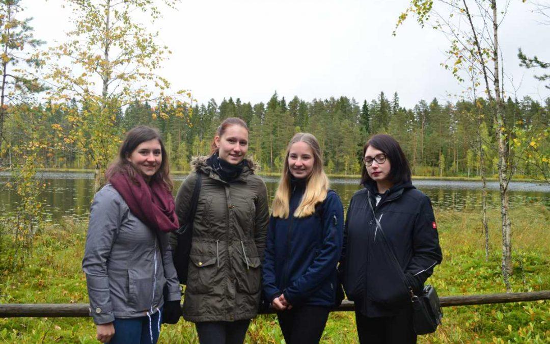 Sandra's Rückkehr aus Finnland