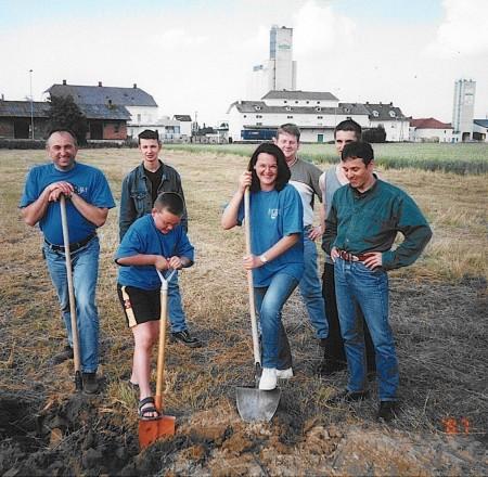 Spatenstich 2001