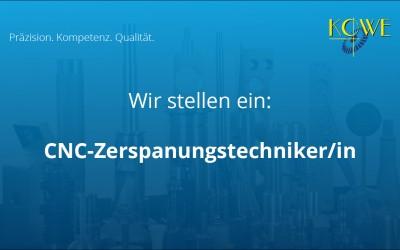 CNC Zerspanungstechniker/in gesucht