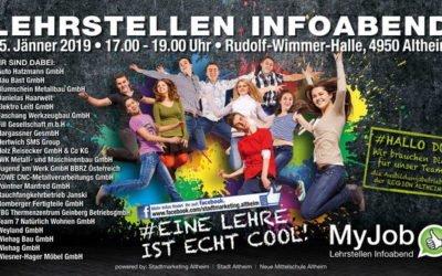 Lehrstellen Infoabend Altheim 2020